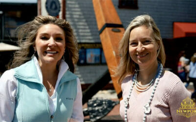 Bowen's Wharf Oyster Festival 2018 with Trixie Wadson and Newport Living and Lifestyles