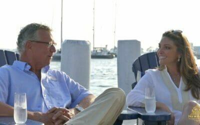 Tom Maynard of Atlantic Coast Yacht Brokers with Newport Living and Lifestyles