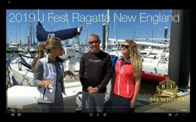 New England 2019 J/Fest Regatta Event with Robyn Earley and EC Helme