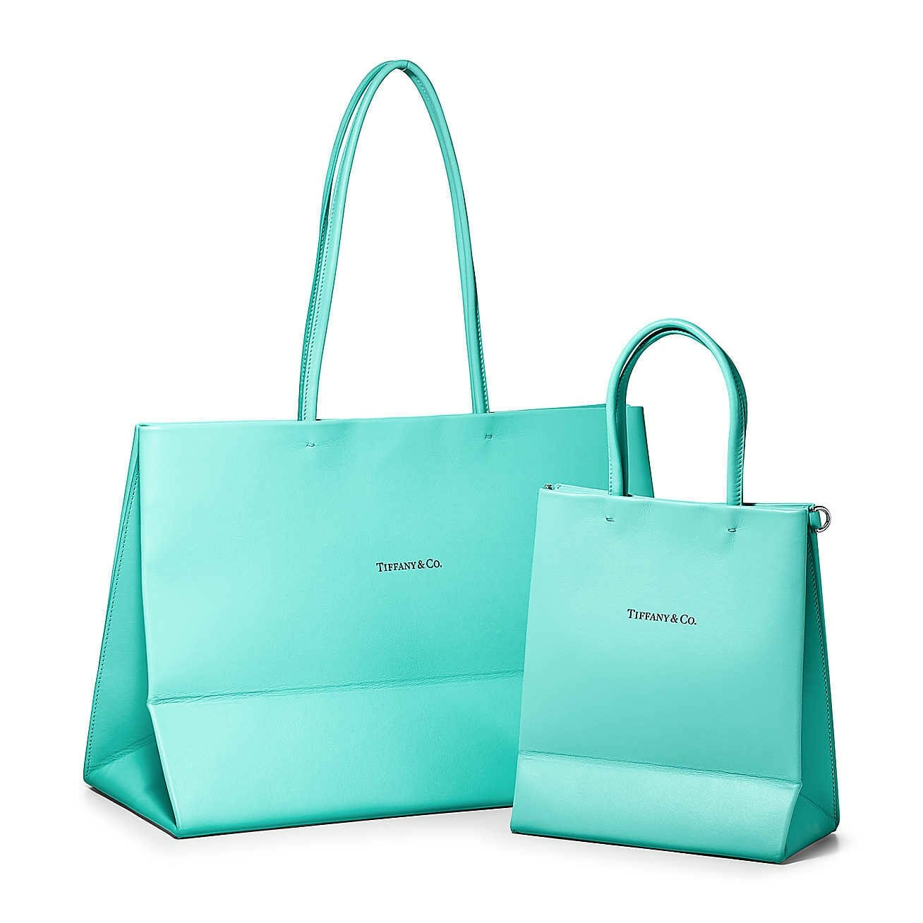 Mothers Day Gift ideas from Newport Living and Lifestyles Tiffany & Co. Large Shopping Totein Tiffany Blue® Leather $1350