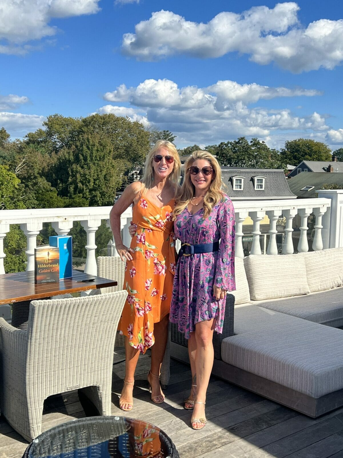 Newport Ladies Book Club with Elin Hilderbrand and Kylie McCollough on book Golden Girl
