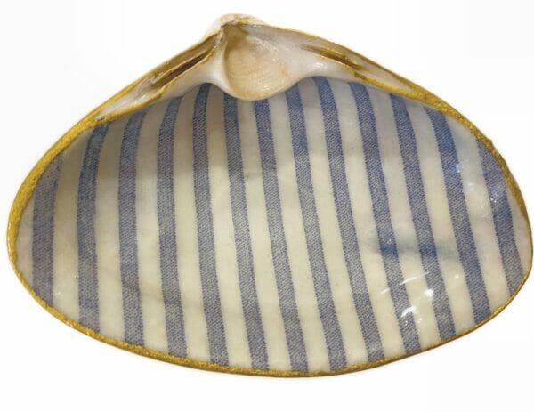 Seersucker stripe ChrisClineDesign Custom Shell