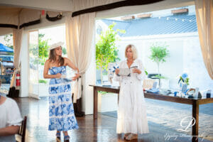 Newport Living and Lifestyles Blue and White Micro Fundraiser for MentorRIBlueWhite-180